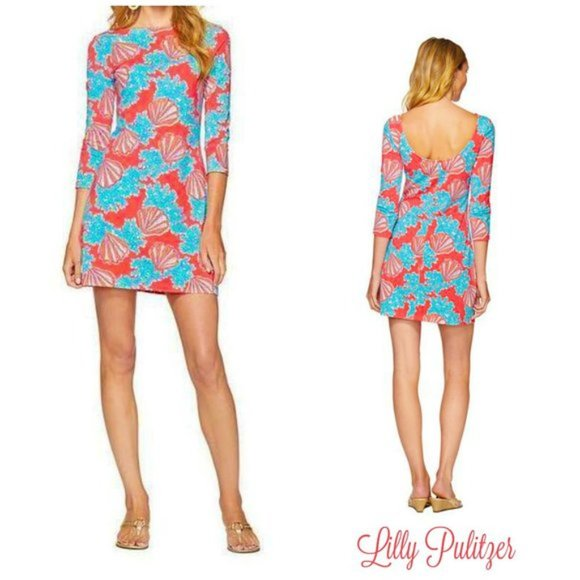 Lilly Pulitzer Dresses & Skirts - Lilly Pulitzer Topanga Mini Dress Coralina XS